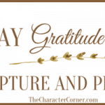 28 Day Gratitude Challenge – Scriptures & Prayers