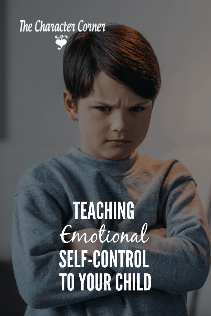teaching emotional self control