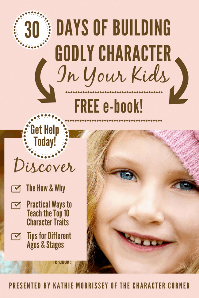 e-book Building Godly Character in Your Kids