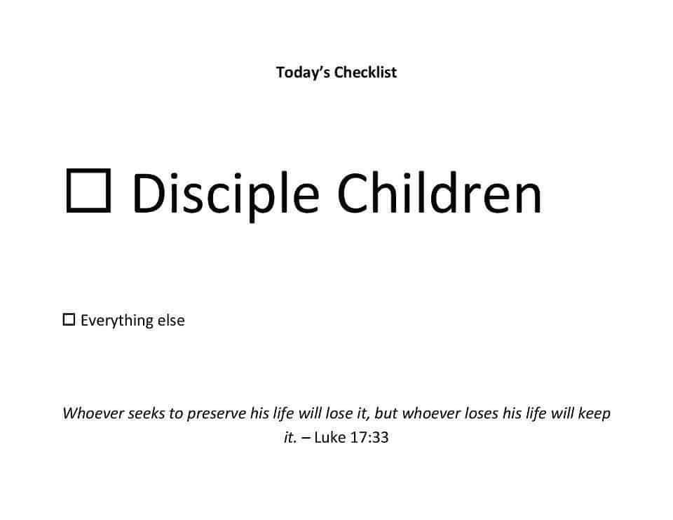 disciple children