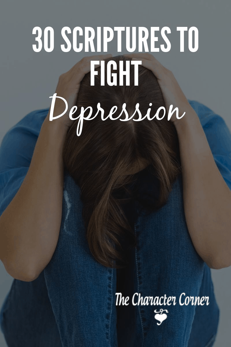 Scriptures to fight depression