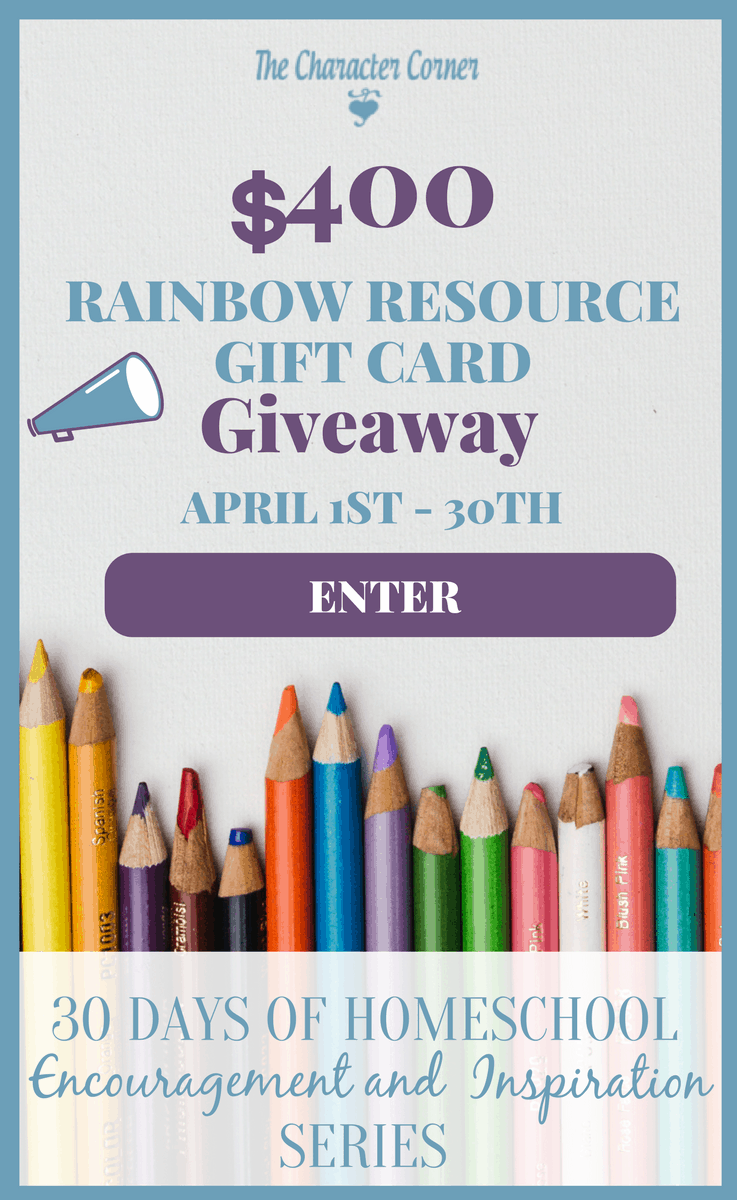 30 Days Homeschool Encouragement Giveaway Image