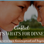Conflict: It's What's for Dinner