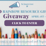 30 Days Of Encouragement For Homeschool Moms (and a HUGE giveaway!)