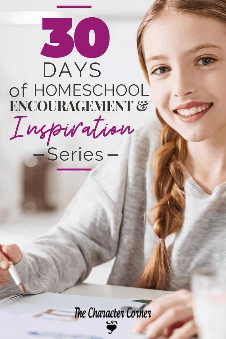 30 Days of Homeschool Encouragement