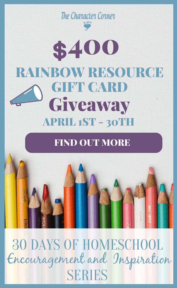 Master 30 Days Homeschool Encouragement Giveaway