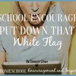 Homeschooling – Put Down That White Flag
