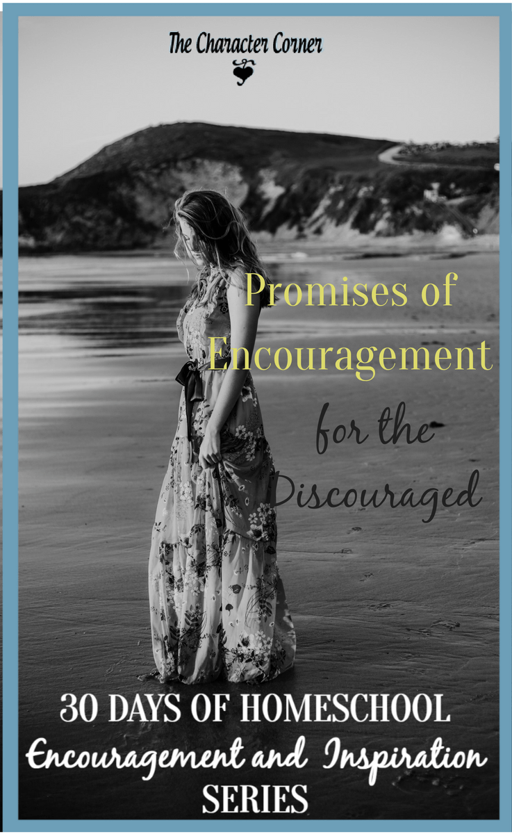 Promises of encouragement for the discouraged homeschool mom