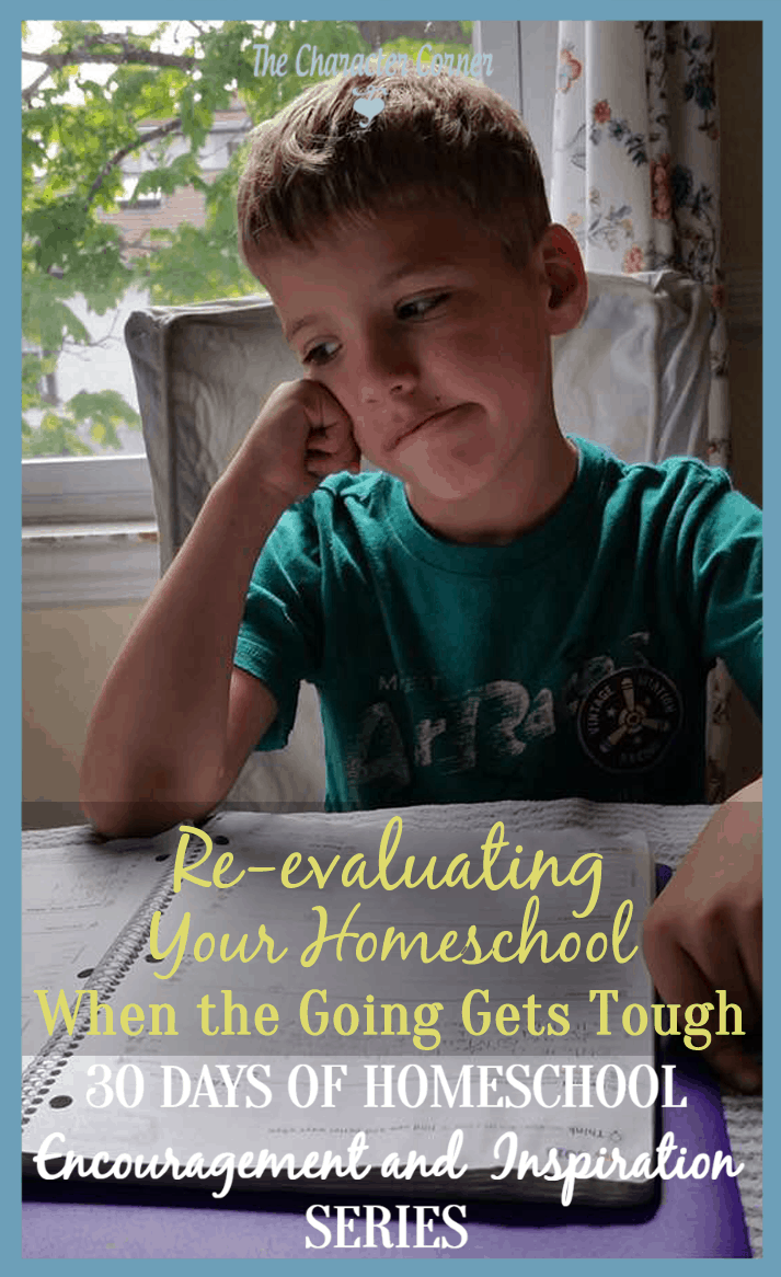 Re-evaluating your homeschool when the going gets tough