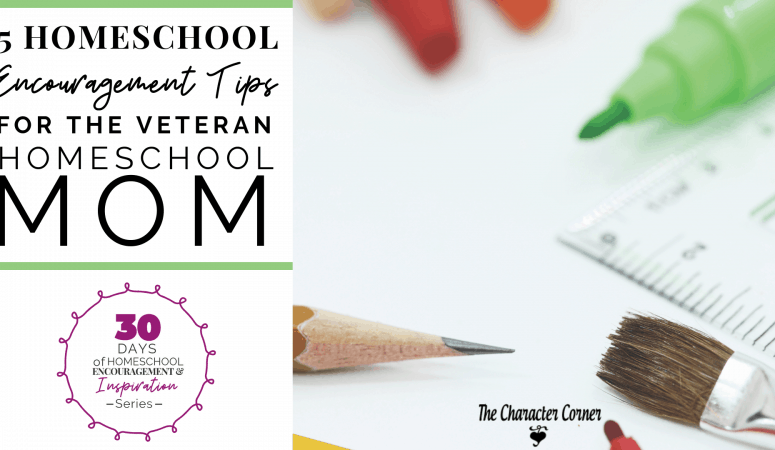 5 Homeschool Encouragement Tips For The Veteran Homeschool Mom