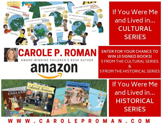 Giveaway Carole P. ROMAN-4 - Carole P. Roman