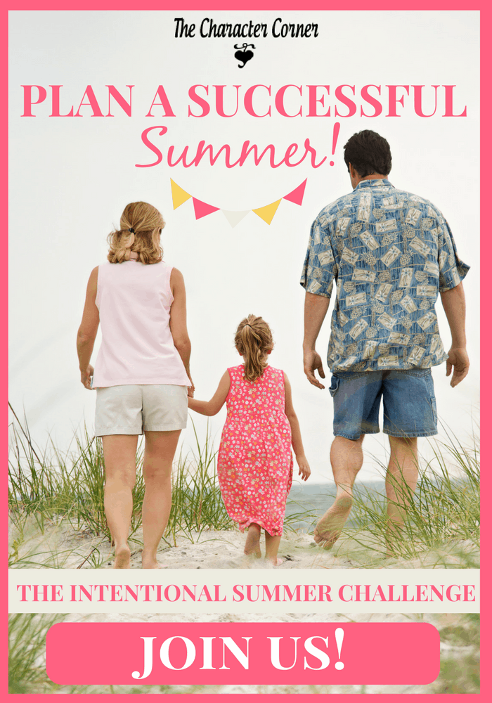 Plan now for a successful summer -- join our intention summer challenge!