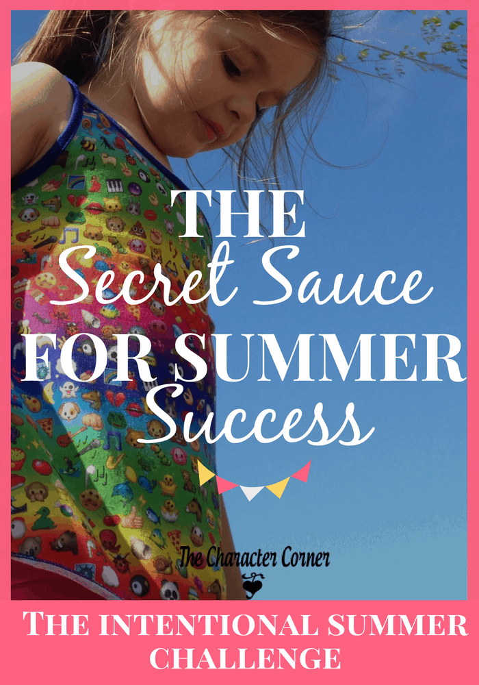 Make sure and include this secret sauce for summer success!