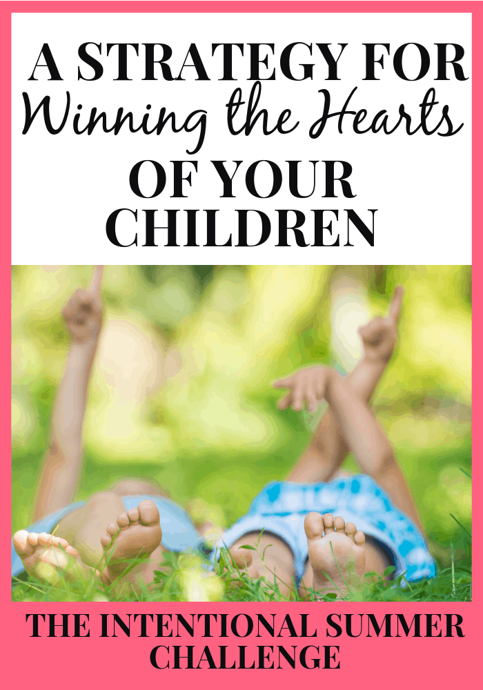 A Strategy for Winning the Hearts of Your Children Challenge The Character Corner