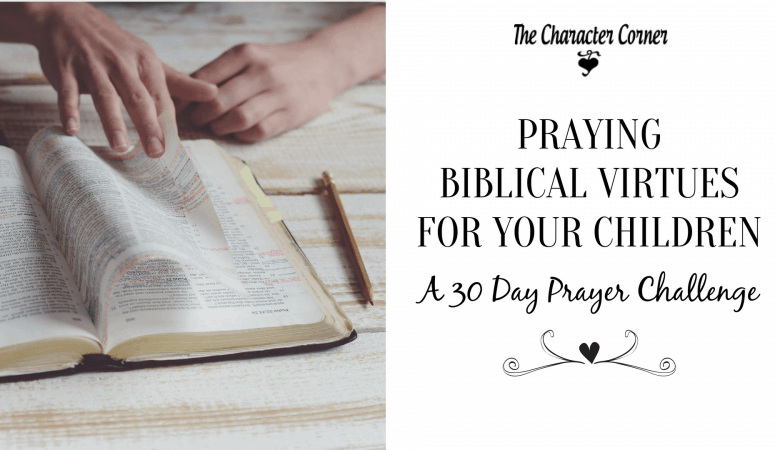 Prayer Challenge – Praying Biblical Virtues For Your Children