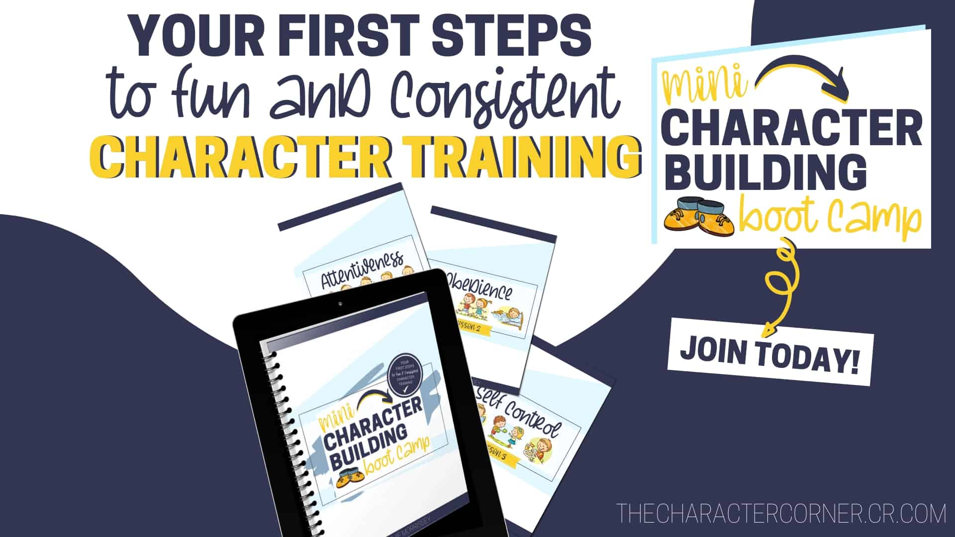 your first steps to fun and consistent character training