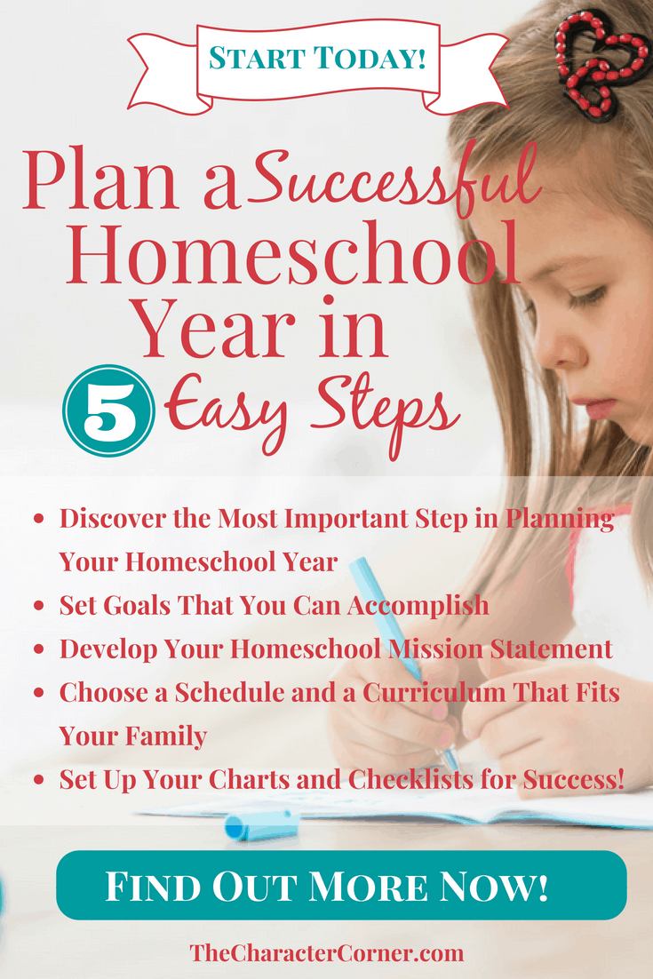 Plan a successful homeschool year