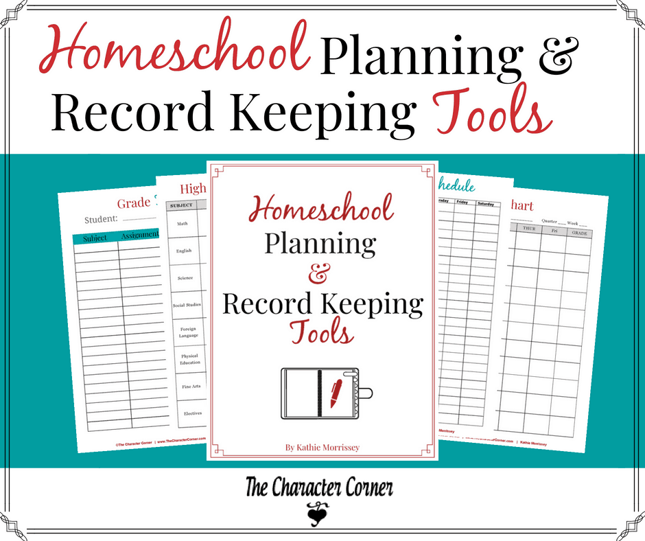 Homeschool planning & record keeping tools