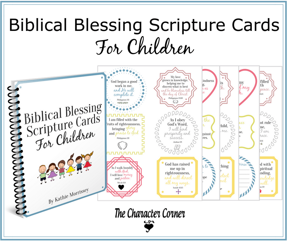 Biblical blessing Scripture cards