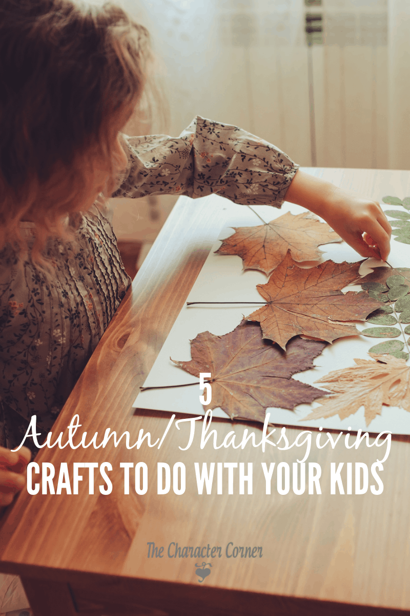 Autumn and Thanksgiving crafts