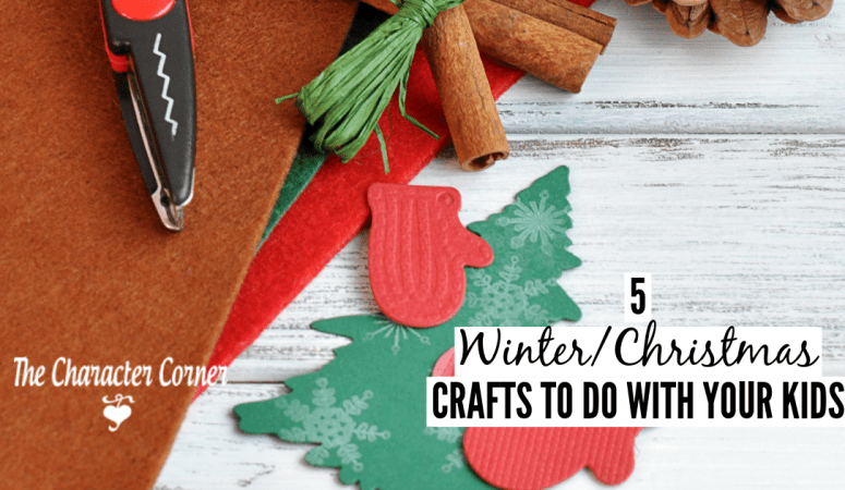 5 Winter & Christmas Crafts To Do With Your Children