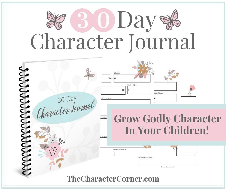 Character Journal Facebook
