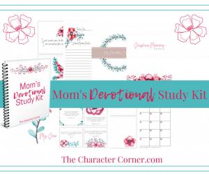 Facebook and Post Sneak Peek Moms Devotional Study Kit