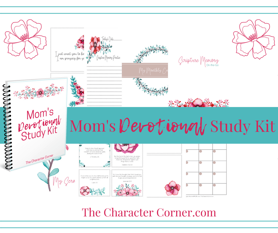 Facebook and Post Sneak Peek Moms Devotional Study Kit
