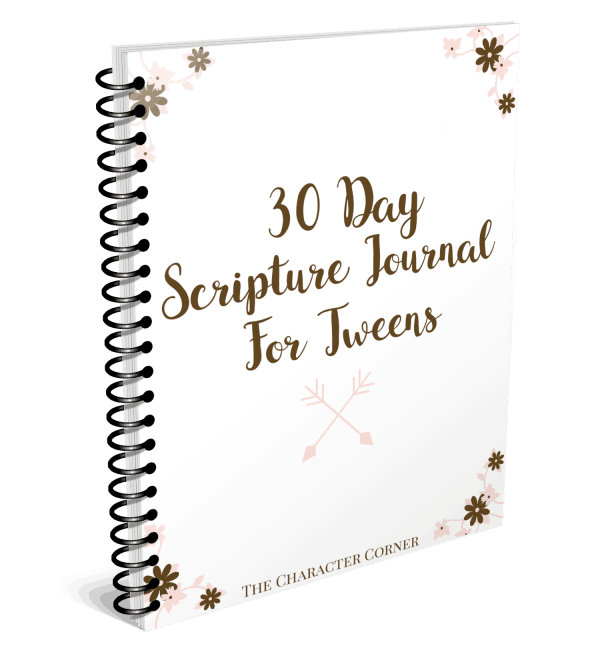 Scripture Journal For Tweens