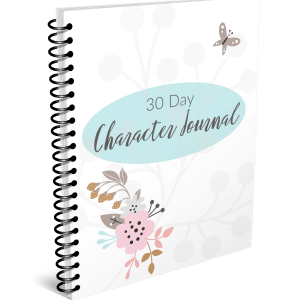 Spiral Cover Character Journal