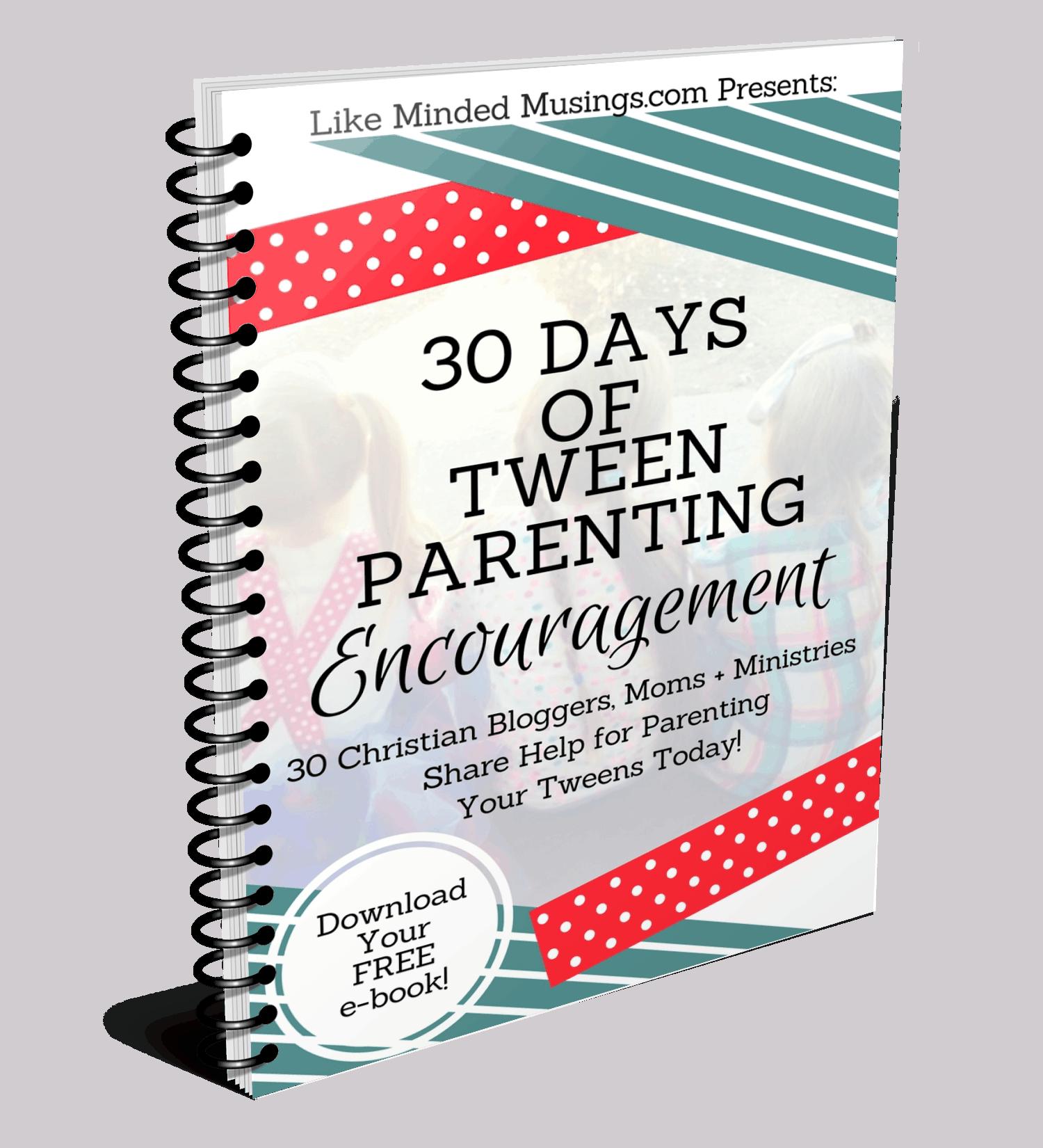Spiral Tween Parenting Encouragement Like Minded Musings Ebook