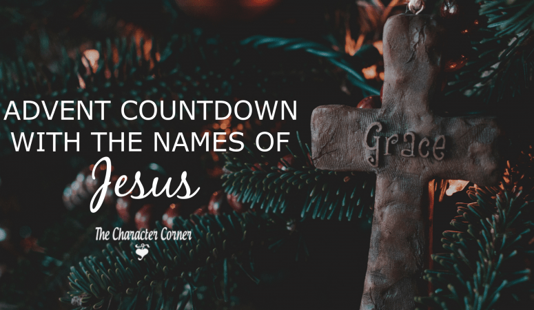 Advent Countdown With The Names of Jesus (Free pack)