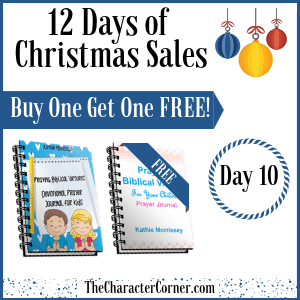 Day 10 Image 12 Days of Christmas Promo Graphics The Character Corner
