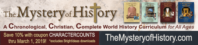 1 28 Mystery of History Sponsor Banner Character Series