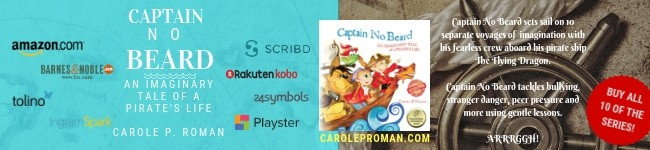 1 30 Captain No Beard Roman Books Sponsor Banner Character Series