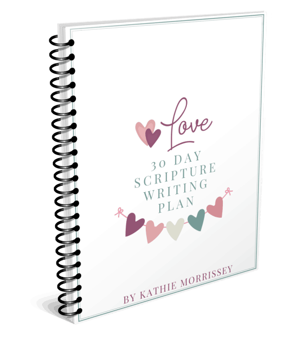Spiral The Character Corner Love Scripture Writing Plan