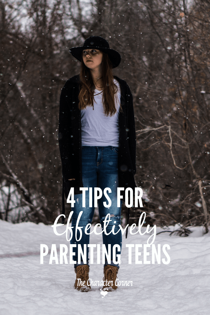 tips for effectively parenting teens