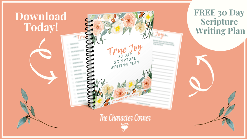 Featured Free True Joy 30 Day Scripture Writing Plan