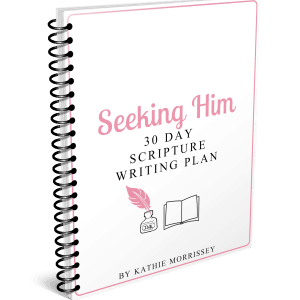 Cover Seeking Him Scripture Writing Plan The Character Corner