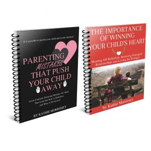 Parenting Mistakes That Push Your Kids Away & Winning Your Child's Heart bundle