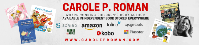 Carole P. Roman Giveaway on The Character Corner Intentional Parenting Challenge