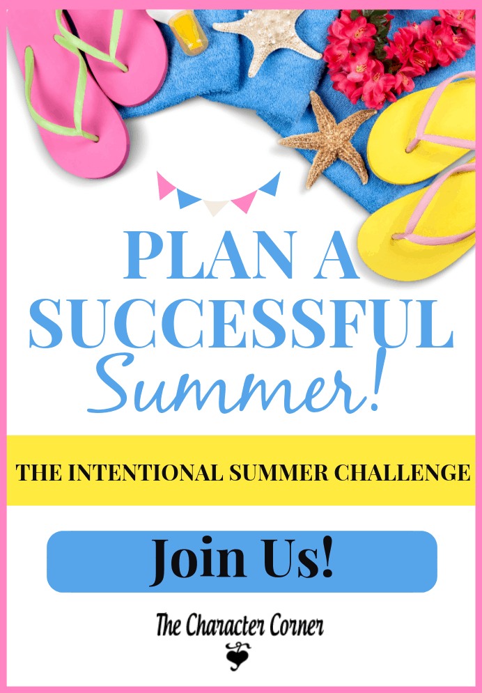 Plan a Successful Summer Challenge The Character Corner
