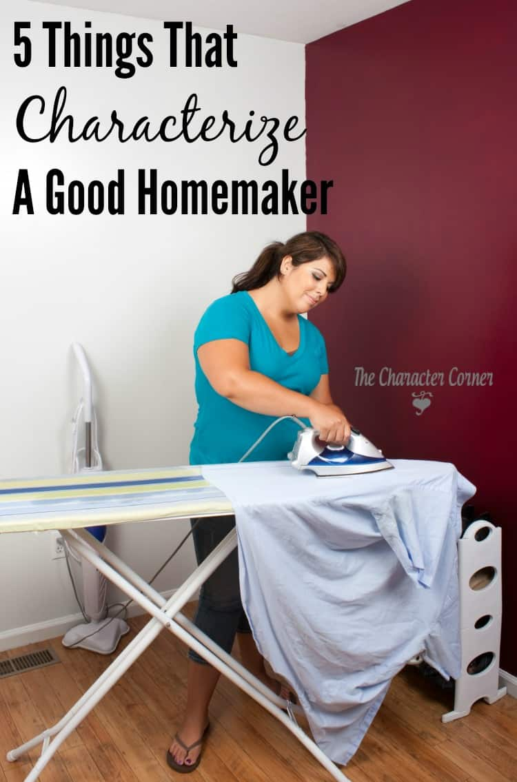 5 things that characterize a good homeamker