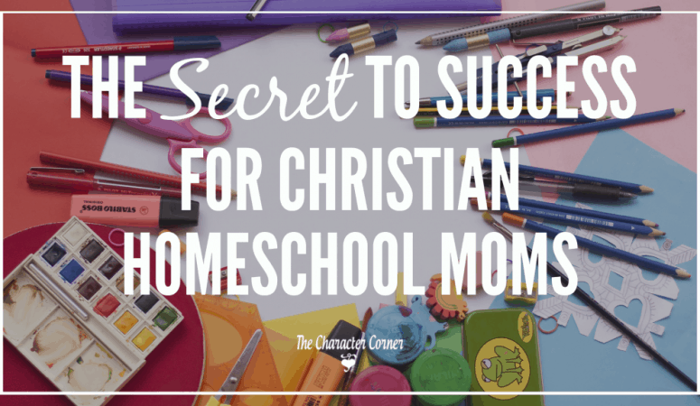 The Secret To Success In Your Homeschool