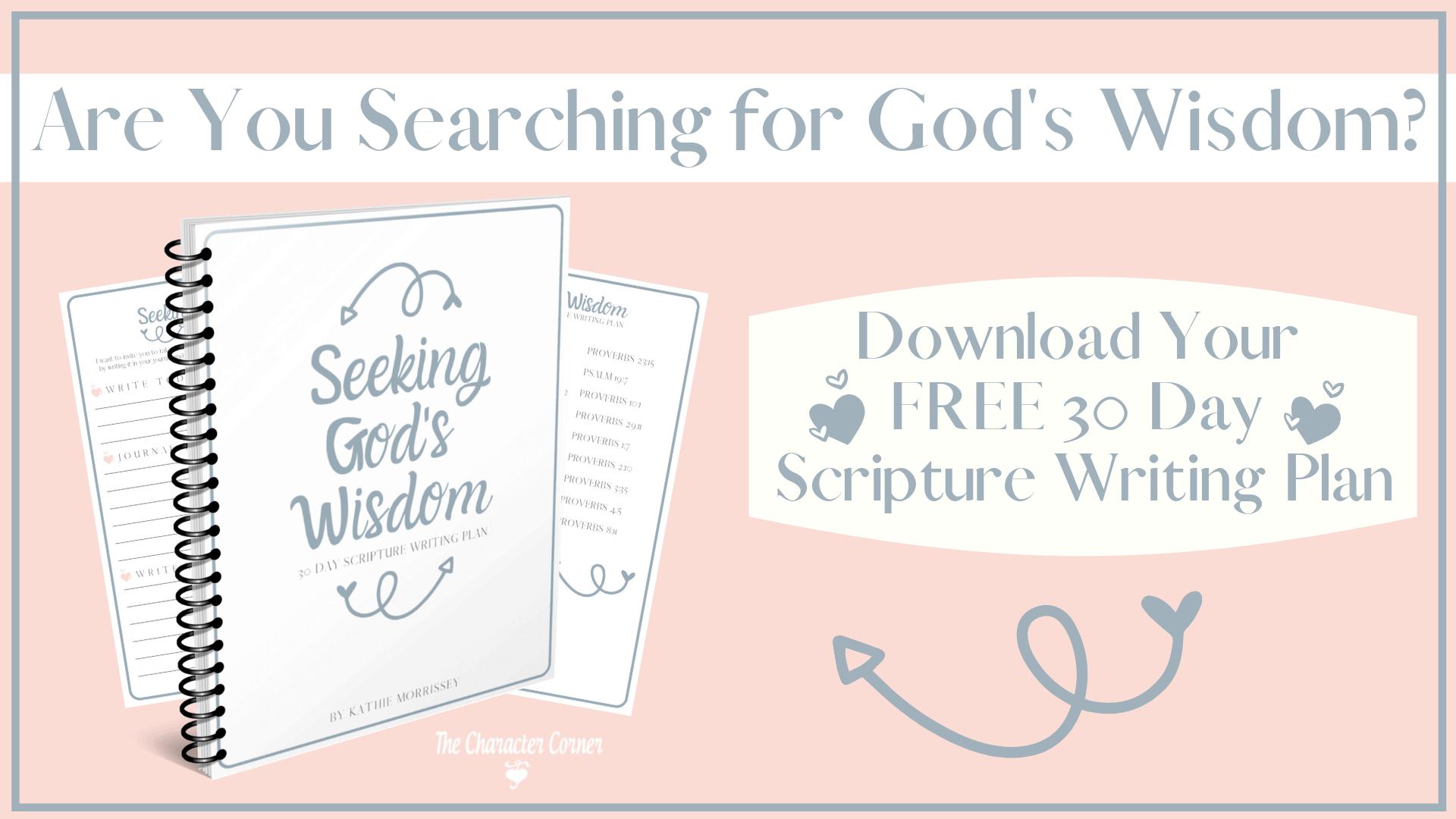 Seeking God's Wisdom