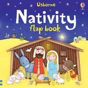 NATIVITY FLAP BOOK for toddlers- 3+