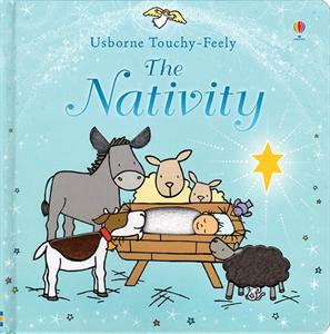 NATIVITY, THE (TOUCHY-FEELY) Baby Book - 9 months +