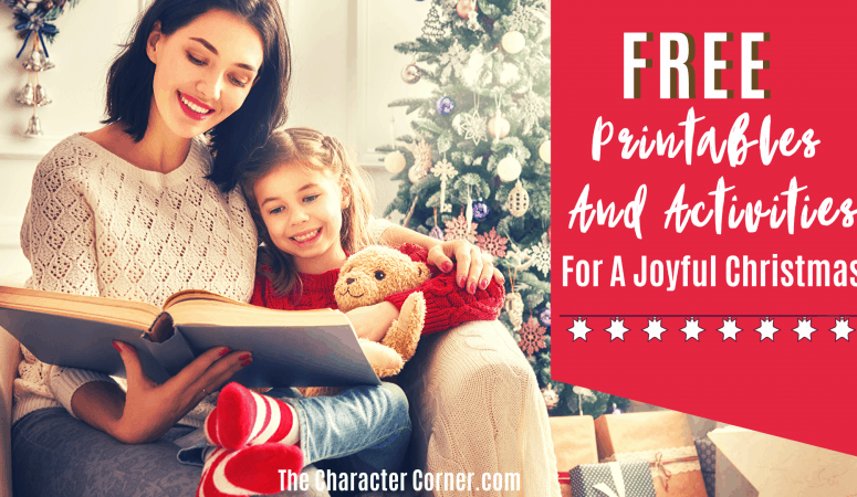Free Printables And Activities For A Joyful Christmas