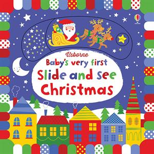 BABY'S VERY FIRST SLIDE AND SEE CHRISTMAS - 1+