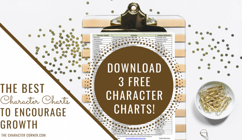 The 3 Best Character Charts To Encourage Growth